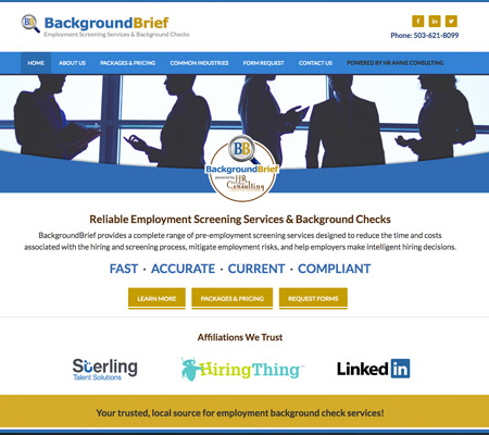 background check company in portland